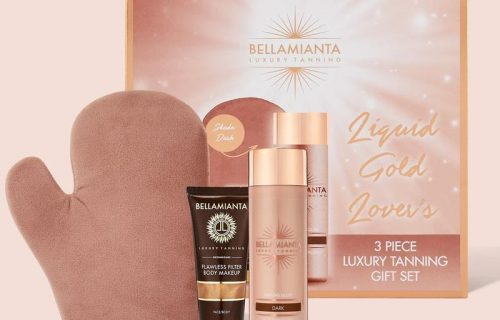 Bellamianta Liquid Gold Lovers Tanning Gift Set