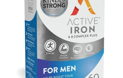 Active Iron + B Complex Plus For Men 60 pack