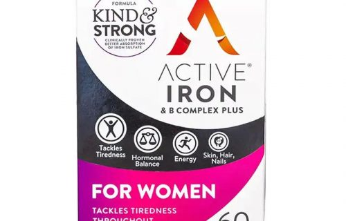 Active Iron + B Complex Plus For Women 60 pack