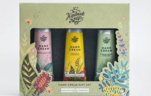 The Handmade Soap Company Hand Cream Set