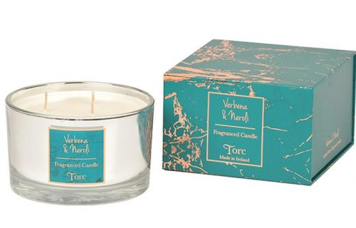 Torc Verbena and Neroli 3 Wick Candle