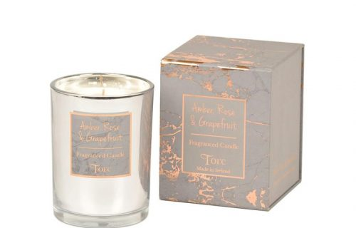 Torc Amber Rose and Grapefruit Candle