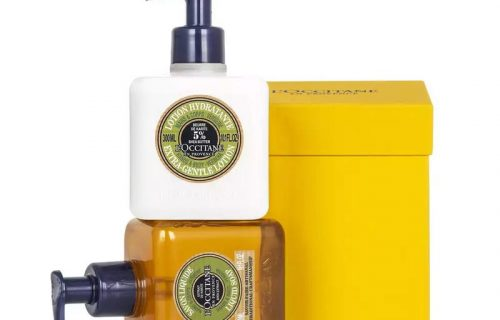 L'Occitane Verbena Hand Wash and Body Lotion Gift Set