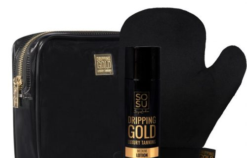 SOSU Dripping Gold The Perfect Pair Medium Lotion Gift Set