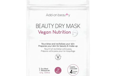 Add-on Beauty Dry Mask – Vegan Nutrition