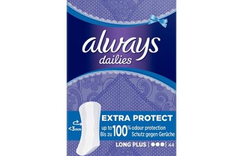 Always Dailies Extra Protect Panty Liners