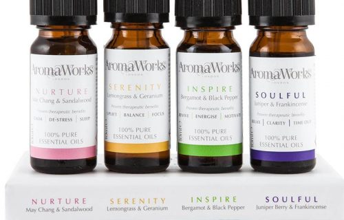 AromaWorks Essential Oils 4 x 10ml