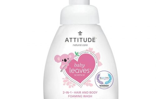 Attitude Baby Leaves 2 in 1 Foaming Wash