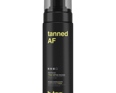 b.tan tanned AF self tan mousse 200ml