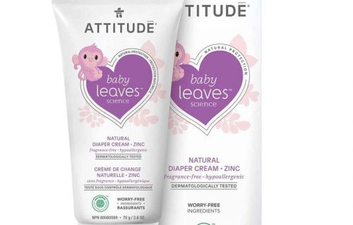 Attitude Baby Leaves Nappy Zinc Cream