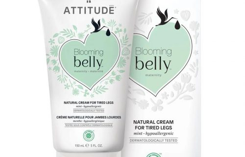 Attitude Blooming Belly Cream For Tired Legs