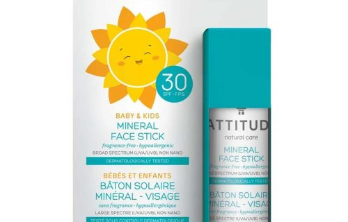 Attitude Kids Mineral Sunscreen Face Stick SPF30
