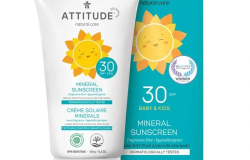 Attitude Kids Mineral Sunscreen SPF30