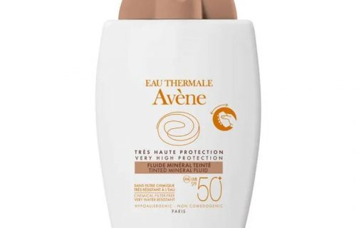 Avene Tinted Mineral Fluid SPF50+ 40ml