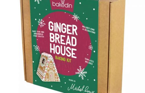 Baked Ginger Bread House Baking Kit