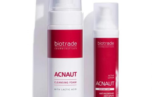 Acnaut Lotion and Cleansing Foam Kit – Oily and Blemish Prone Skin