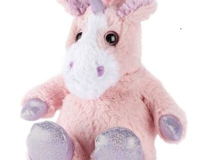 Warmie Sparkly Pink Unicorn