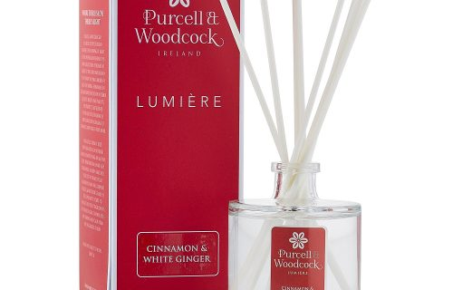 Purcell and Woodcock Cinnamon and White Ginger Diffuser