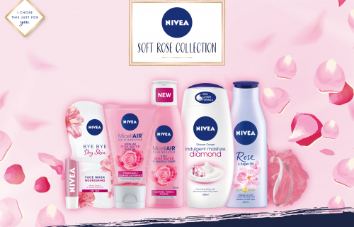 Nivea Soft Rose Collection Gift Set