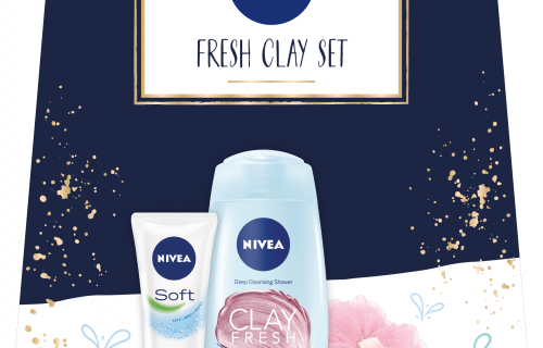 Nivea Fresh Clay Gift Set