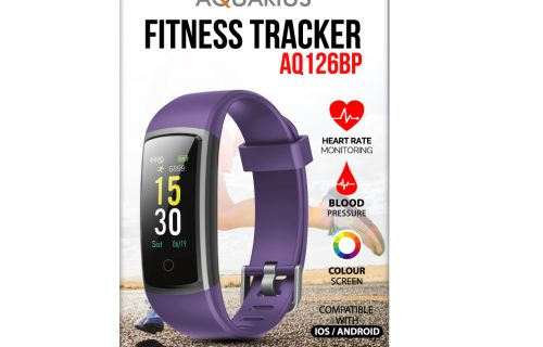 AQ Fitness Tracker Purple