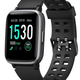 AQ Fitness Tracker Black