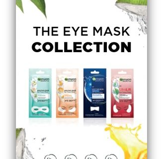 Garnier Skin Active Eye Mask Collection