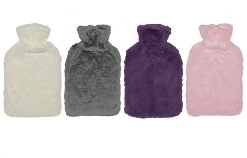 Cassandra Soft Faux Fur Hot Water Bottle