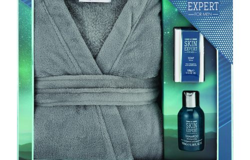 Skin Expert For Men Bath Robe Set