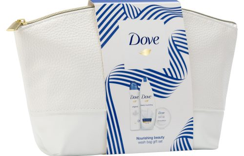 Dove Nourishing Beauty Wash Bag Gift Set