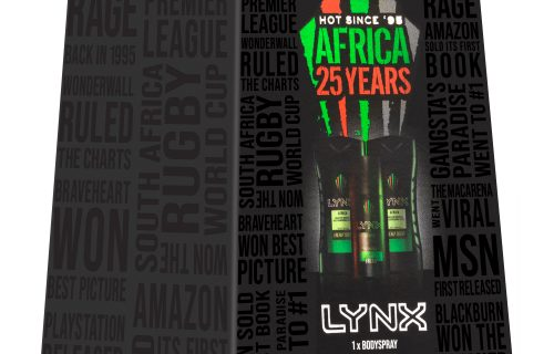 Lynx Africa 25 Year Mini Gift Set