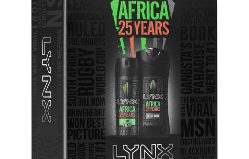 Lynx Africa 25 Year Duo Gift Set