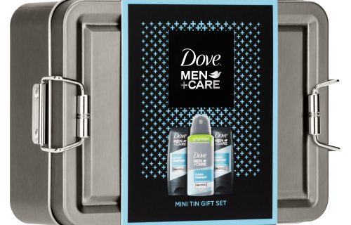 Dove Men Care Mini Tin Gift Set