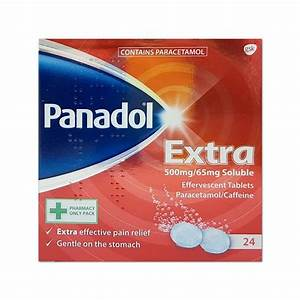 Panadol Extra Soluble – 24 Tablets