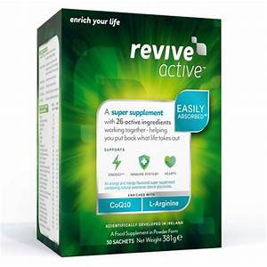 REVIVE ACTIVE HEALTH FOOD SUPPLEMENT – 30 DAY SUPPLY